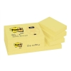 Post-it Recycled Notes Pad of 100 38x51mm Yellow Ref 653-1YE [Pack 12]