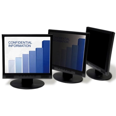 3M Privacy Screen Protection Filter Anti-glare Framed Desktop Lightweight LCD CRT 19in Black Ref PF319