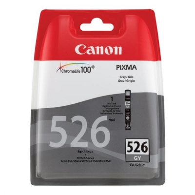 Canon CLI-526GY Inkjet Cartridge Page Life 1515pp Grey Ref 4544B001