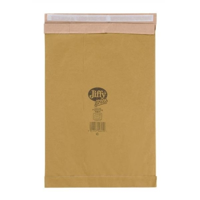 Jiffy Padded Bag Envelopes No.6 Brown 295x458mm Ref JPB-6 [Pack 50]