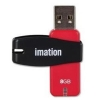 Imation Nano Pro Flash Drive USB 2.0 for MacOS9 or Windows 10000 Write Cycles 8GB Ref i30773