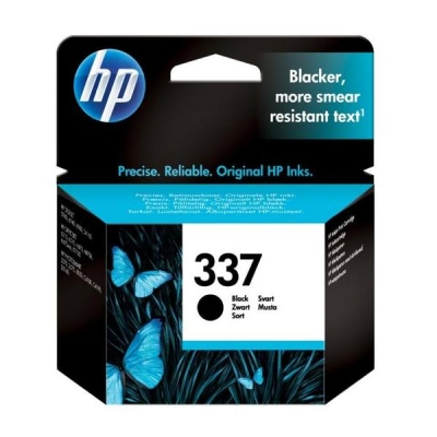 Hewlett Packard [HP] No. 337 Inkjet Cartridge Page Life 400pp Black Ref C9364EE