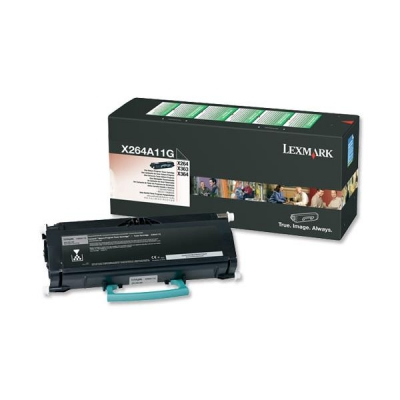Lexmark Laser Toner Cartridge Return Program High Yield Page Life 3500pp Black Ref X264A11G