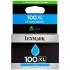 Lexmark No. 100XL Return Program Inkjet Cartridge High Yield Page Life 600pp Cyan Ref 14N1069E