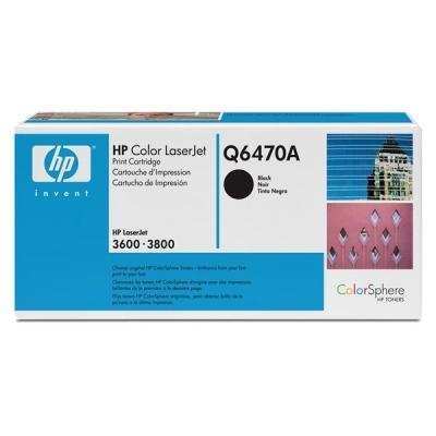 Hewlett Packard [HP] No. 501A Laser Toner Cartridge Page Life 6000pp Black Ref Q6470A