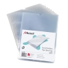 Rexel Card Holder Polypropylene Wipe-clean Top-opening A5 Ref 12093 [Pack 25]