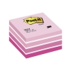 Post-it Note Cube Pad of 450 Sheets 76x76mm Pastel Pink Ref 2028P