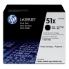 Hewlett Packard [HP] No. 51X Laser Toner Cartridge Page Life 26000pp Black Ref Q7551XD [Pack 2]