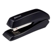 Rexel Ecodesk Compact Stapler Half Strip Throat 47mm Metallic Black Ref 2100029