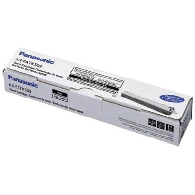 Panasonic Laser Toner Cartridge Page Life 4000pp Black Ref KXFAT509X