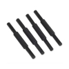 Avery Risers for Letter Trays Plastic 75mm Black Ref 403 [Pack 4]