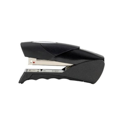 Rexel Gazelle Stapler Half strip Throat 50mm Metallic Black Ref 2100010