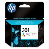 Hewlett Packard [HP] No. 301 Inkjet Cartridge Page Life 165pp Colour Ref CH562EE #UUS