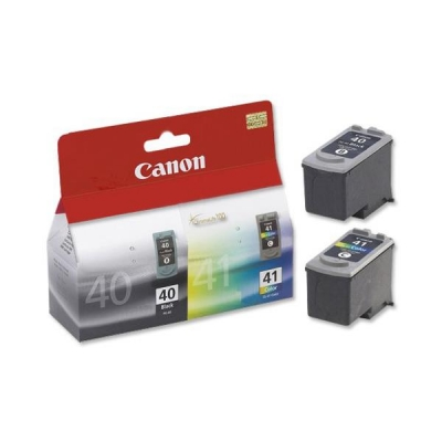 Canon PG-40/CL-41 Inkjet Cartridge Page Life 663pp Black/Colour Ref 0615B036 [Pack 2]