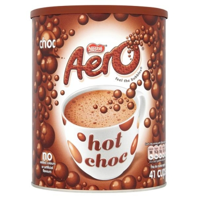 Aero Hot Chocolate 42 Servings Tub 1kg Ref 5218043