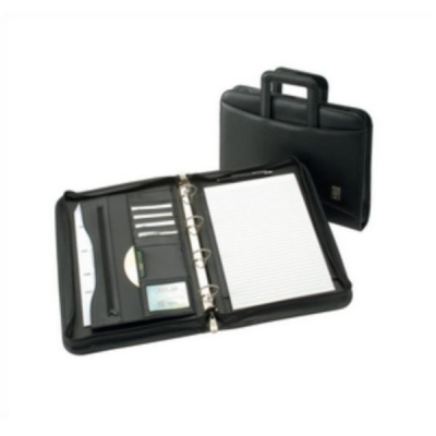5 Star Conference 4 Ring Binder with Handles Capacity 60mm W275xH377mm A4 Black