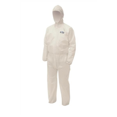 Kleenguard A50 Coverall Breathable SMS Fabric Splash-Resistant Anti-static EN 1149-1 Medium Ref 96820
