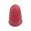 Quality Thimblette Rubber for Note-counting Page-turning Size 00 Very Small Red Ref 265460 [Pack 10]