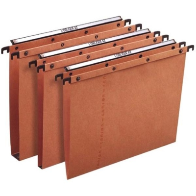 Elba Ultimate A20 Suspension File Manilla V-Base A4 Orange Ref 100330270 [Pack 25]