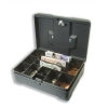 5 Star High Capacity Cash Box 300mm Deep with Coin Tray 8 Part and Note Section 3 Part