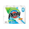 Plenty Kitchen Roll 2-Ply Average 60 Sheets of 229x228mm Ref M01370 [Pack 6]