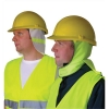 Wallace Cameron Hardhat Two Weather Shield Winter Summer High Visibility Yellow Ref 5604009