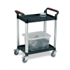 5 Star Utility Tray Trolley Standard 2 Shelf Capacity 100kg