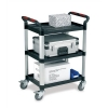 5 Star Utility Tray Trolley Standard 3 Shelf Capacity 150kg