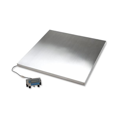 Salter Platform Scales Tare Imperial and Metric Capacity 500kg 100g Increments W915xD915mm Ref WS500