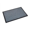 Floortex Outdoor Mat Vinyl Fibre Surface Vinyl Back 900x1500mm Grey