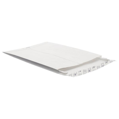 Tyvek Gusseted Envelopes Extra Capacity Strong H343xW250xD20mm White Ref 67182 [Pack 20]