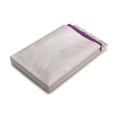 Tyvek Gusseted Envelopes High Capacity Strong D4A H381xW250xD51mm White Ref 67482 [Pack 20]