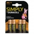 Duracell MN1500 Simply Battery AA Ref 81235210 [Pack 4]