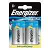 Energizer HighTech Battery Alkaline LR20 1.5V D Ref 629801 [Pack 2]