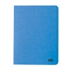 Elba Boston Square Cut Folder Pressboard 275gsm Capacity 32mm Foolscap Blue Ref 100090020 [Pack 50]