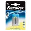 Energizer HighTech Battery Alkaline 6LR61 9V Ref 629781