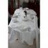 White Banquet Roll 50m White