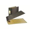 Rexel Classic Lever Arch File Unslotted 75mm Oblong A3 Cloudy Grey Ref 26435EAST [Pack 2]