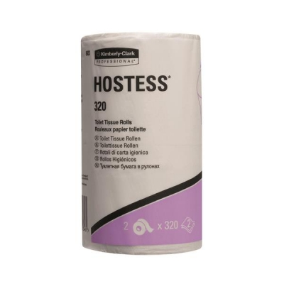 Hostess 320 Toilet Tissue Rolls Two-ply Ref 8653 [Pack 36]