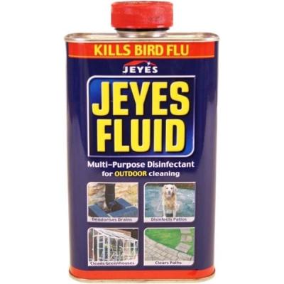 Jeyes Fluid Disinfectant Deodoriser Cleaner 1 Litre Ref 124003