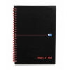 Black n Red Book Wirebound Recycled 90gsm 140pp A5 Ref 100080113 [Pack 5]