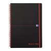 Black n Red Book Wirebound Recycled Polypropylene 90gsm 140pp A4 Ref 100080167 [Pack 5]