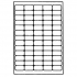 Avery Mini Labels Laser 65 per Sheet 38.1x21.2mm Clear Ref L7551-25 [1625 Labels]