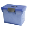 Pierre Henry File Box Plastic for Suspension Files A4 W370xD240xH300mm Light Blue Ref 040062