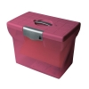 Pierre Henry File Box Plastic for Suspension Files A4 W370xD240xH300mm Pink Ref 040067