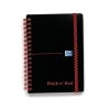 Black n Red Notebook Wirebound Polypropylene 90gsm Ruled 140pp A6 Ref 100080476 [Pack 5]