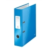 Leitz WOW Lever Arch File 80mm Spine for 600 Sheets A4 Blue Ref 10050036 [Pack 10]