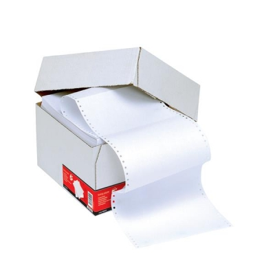 5 Star Listing Paper 1-Part 60gsm 11inchx216mm Plain [2000 Sheets]