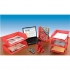 5 Star Letter Tray High-impact Polystyrene Foolscap Red Ref CP0435SRED