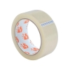 5 Star Clear Tape Roll Large Easy-tear Polypropylene 40 Microns 38mm x 66m [Pack 4]